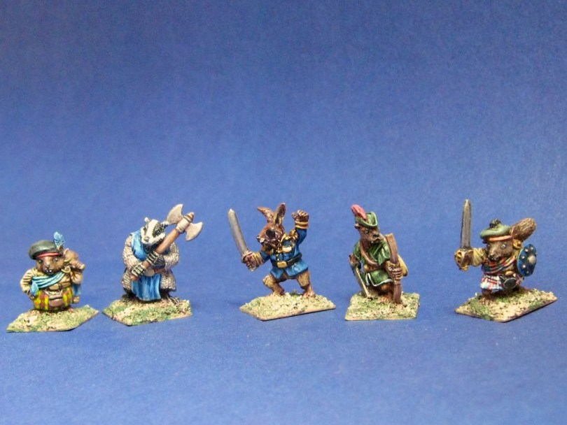 15mm/18mm Woodland Warriors from Sprintered Light Miniatures - The Faithful
