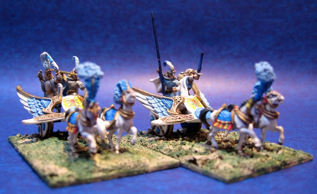 15mm Ral Partha High Elf Chariots