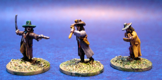 15mm Vampire Hunters from Blue Moon Manufacturing