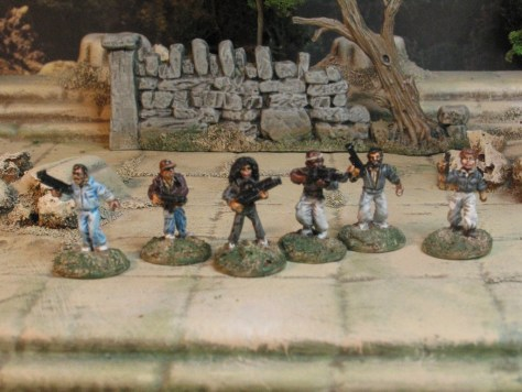 15mm Sci Fi from Khurasan Miniatures Alien Nostromo Crew