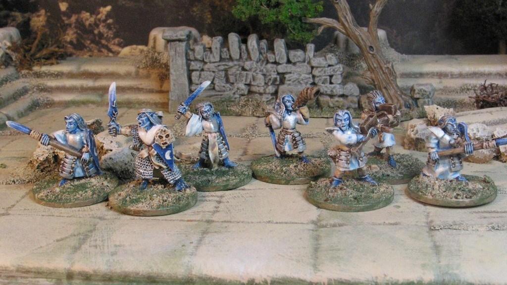 15mm Demonworld Dark Elves from Ral Parthap