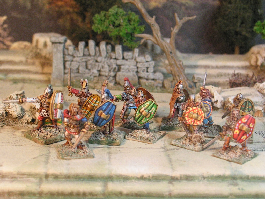15mm Dark Ages. Arthurian Warrior Warband