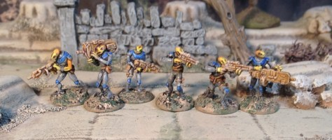15mm Brog Empire from Rebel Minis