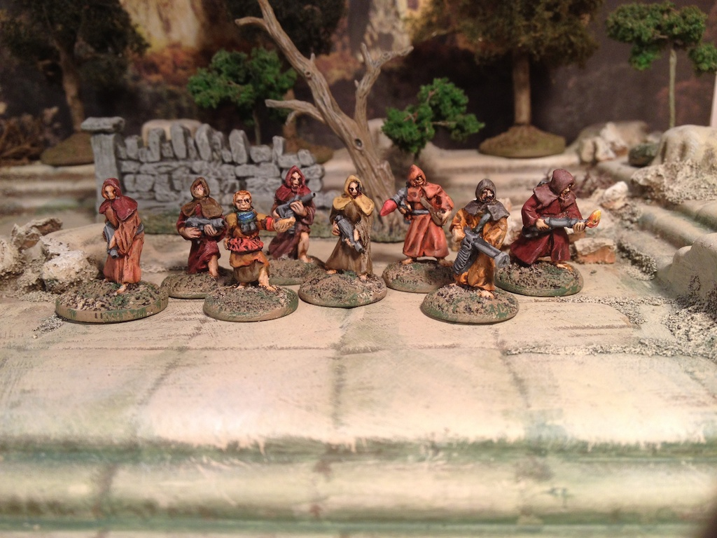 15mm Post Apocalyptic Survivors, Cultists or Ravagers