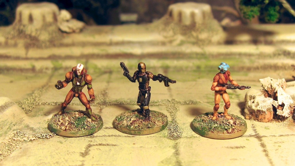 CP and Brigade Models 15mm Scifi by PF