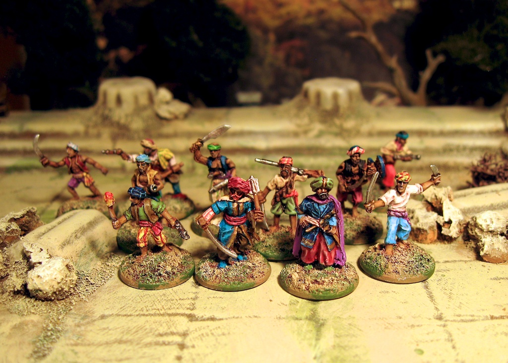 Barbary Corsair Pirates in 15mm