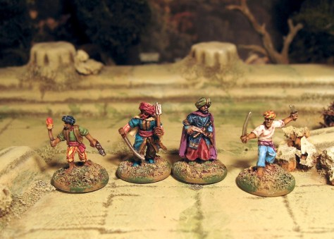 15mm Barbary Corsair Pirates