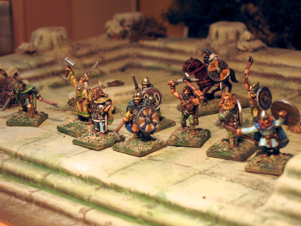 15mm SAGA: Viking Warband from Splintered Light