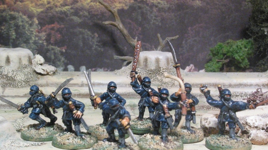Rebel Minis 15mm Ninja