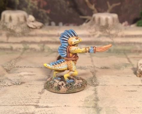 Splintered Light 15mm Reptilian Gladiator