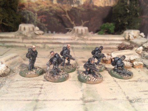 15mm Hell Divers from Clear Horizon Miniatures
