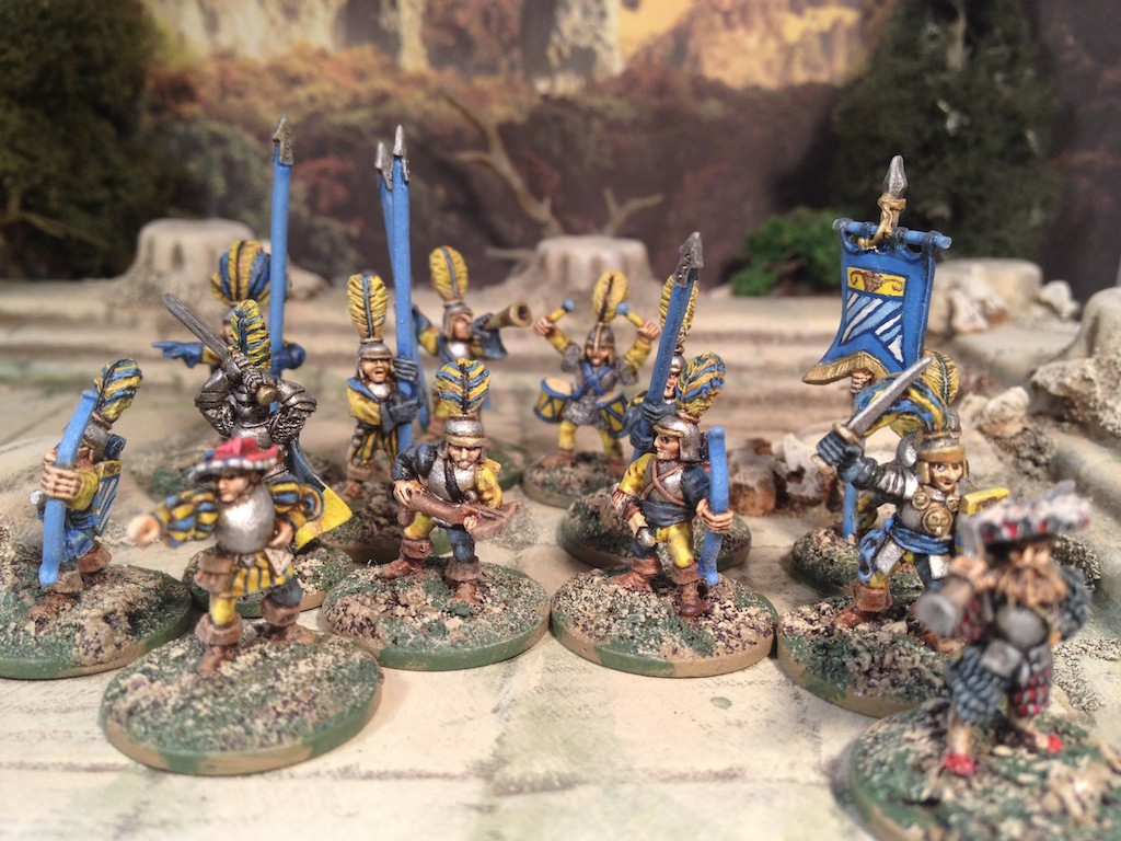 Guards! Guards!: A 15mm Frostgrave Empire warband