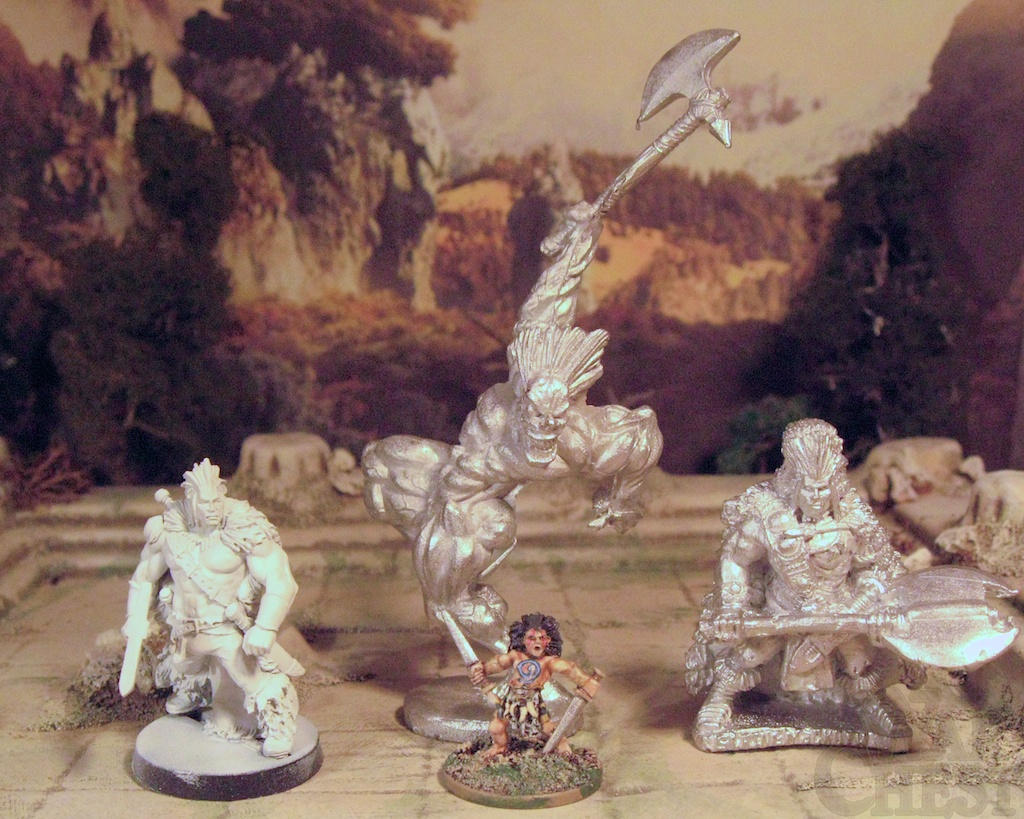 Slaine in miniature - or not so miniature!