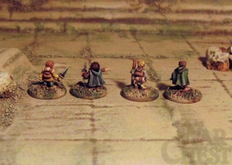 10mm Copplestone Castings Halflings