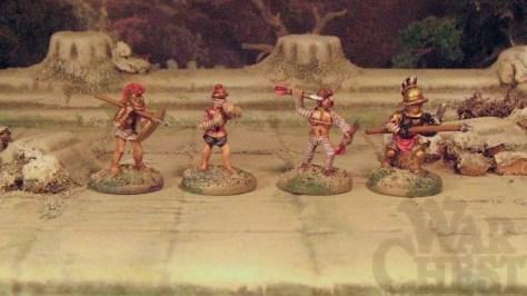 15mm Gladiators Arena Rex warriors Rebel Minis Museum Miniatures