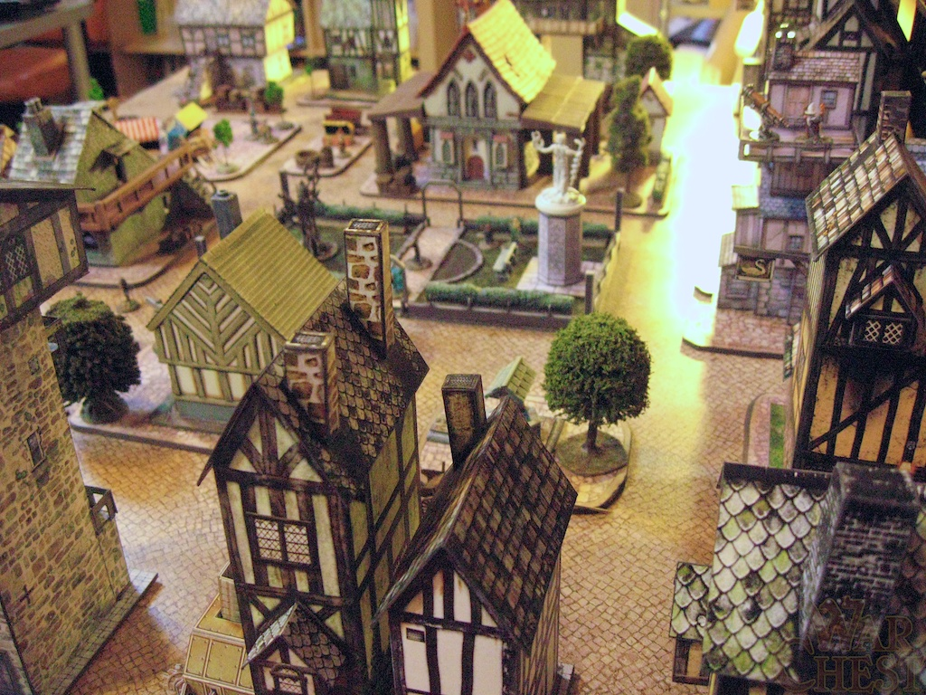 A City for All Scales: Fantasy Town follow-up