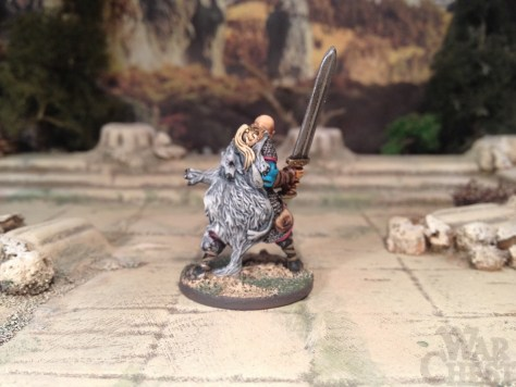 Rackham Cadwallon Mercenary Officer 28mm Miniature