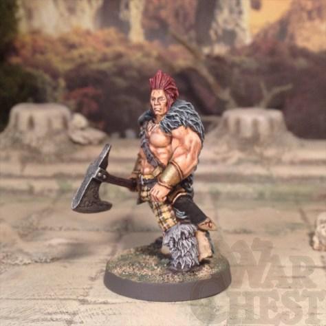 28mm Hasslefree Miniatures Slaine Fantasy Barbarian