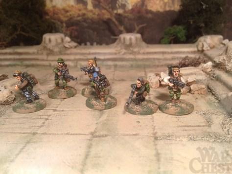 Oddział Ósmy Oddzial Osmy 15mm insurgents sci fi modern skirmish