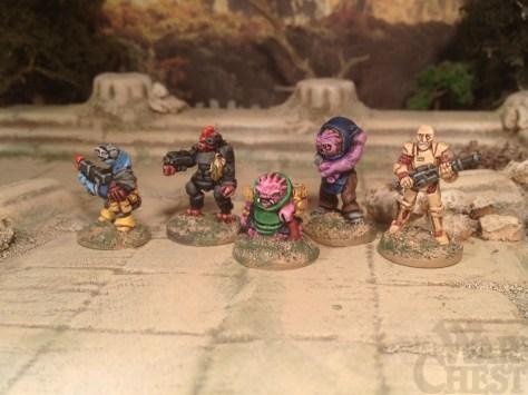 15mm.co.uk SHM range 15mm sci fi characters for skirmish games