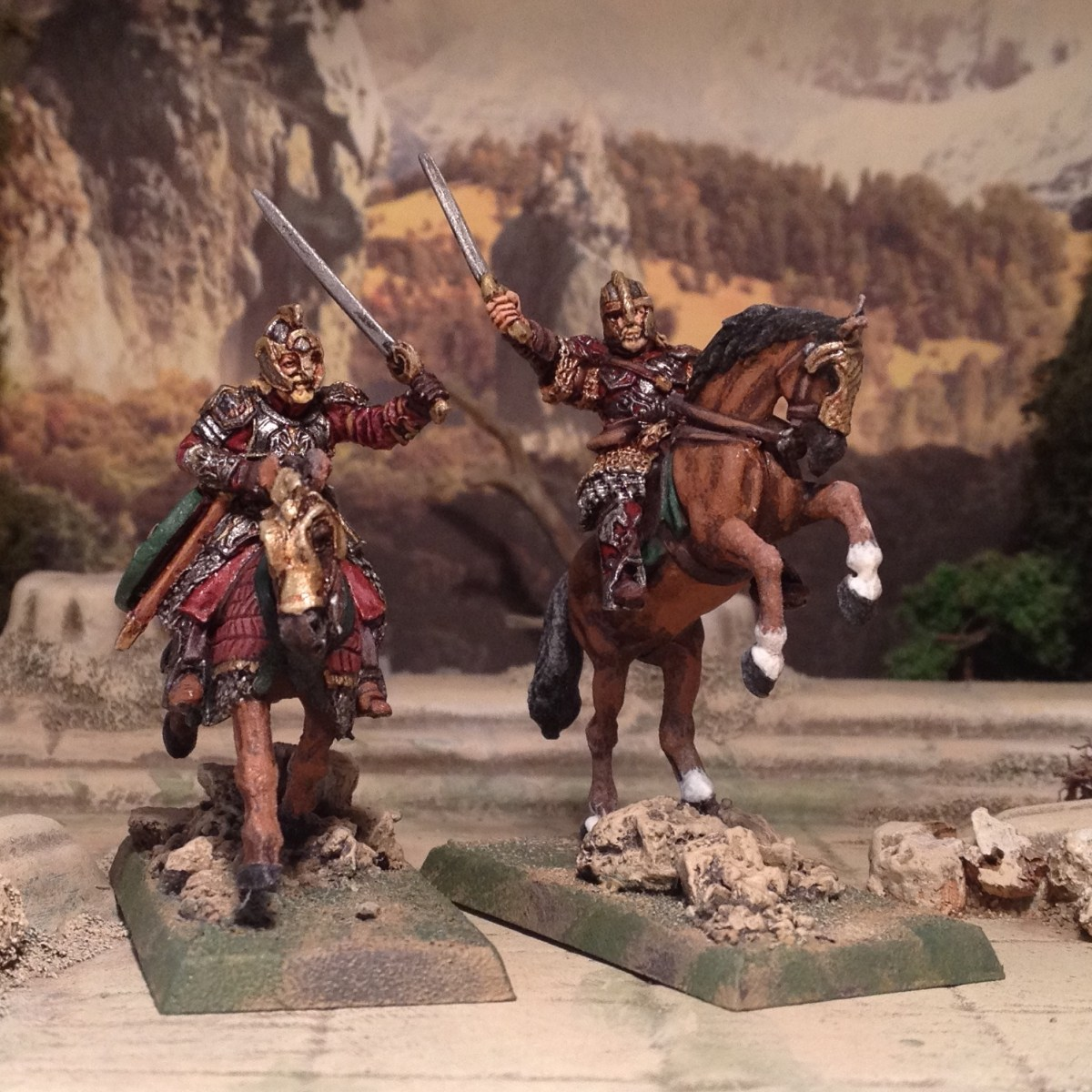 Another Northern Wind: Rohan, Vikings and a very old Citadel miniature