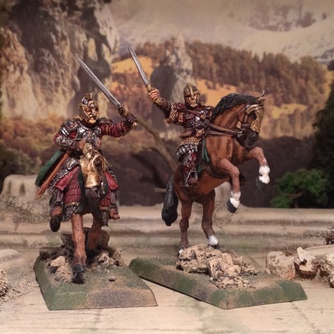Games Workshop Lord of the Rings LotR Rohan Theoden and Eomer