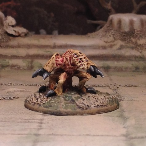 15mm Ugly vicious alien monster