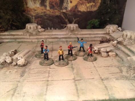 15mm Star Trek Away Team 50th Anniversary Astro Miniatures