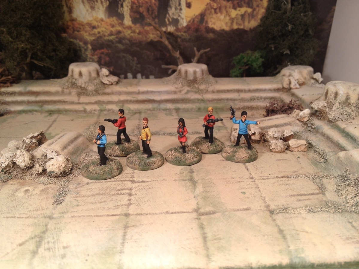 15mm Star Trek Away Team: Happy 50th Anniversary!