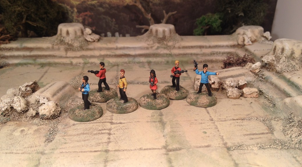 15mm Star Trek Away Team 50th Anniversary Astro Miniatures