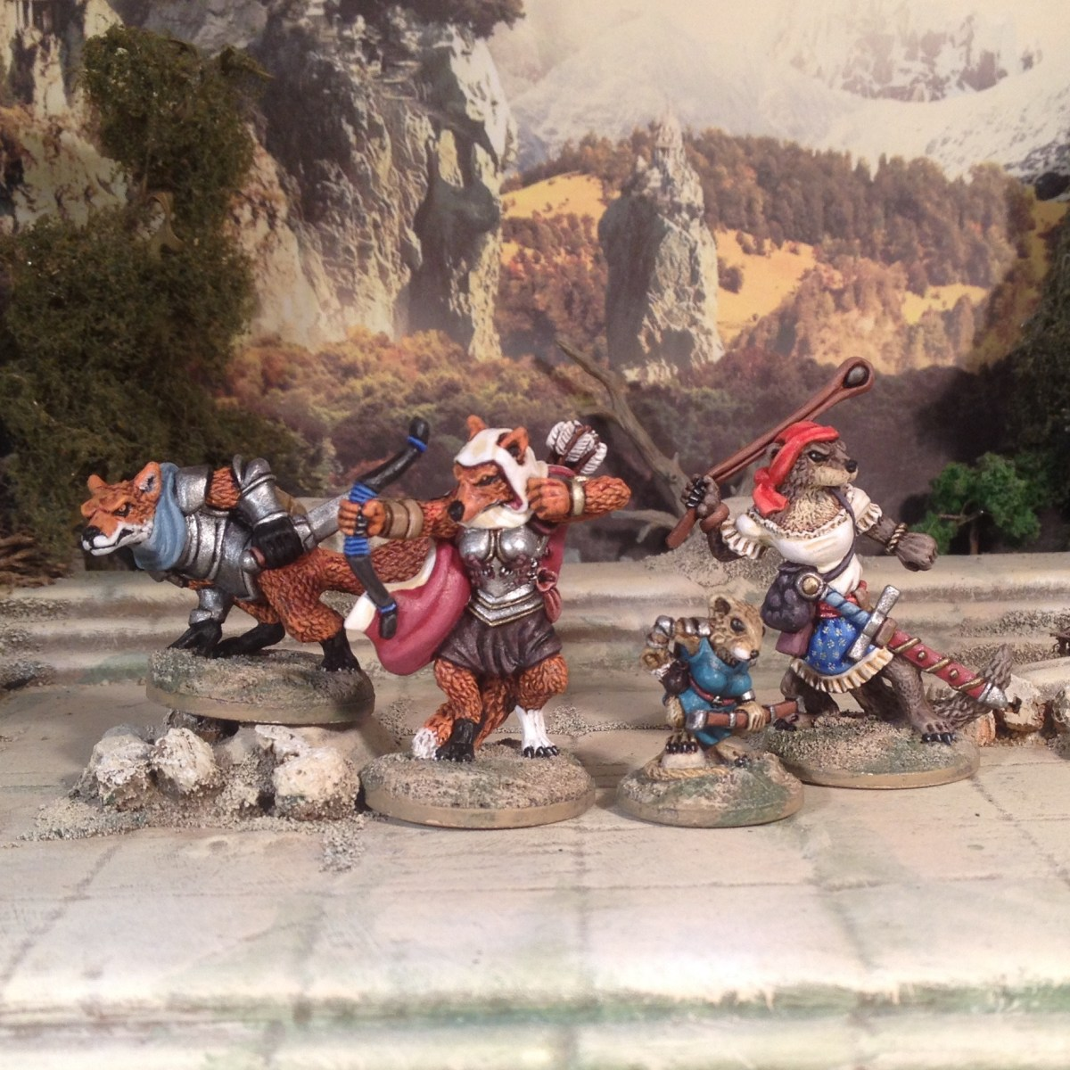 More Anthropomorphic Woodland Animals from Oathsworn and new 'Flash' Kickstarter