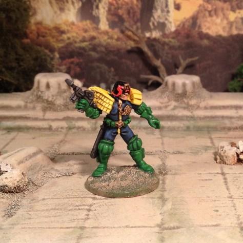 28mm Judge Dredd 2000AD SciFi Skirmish