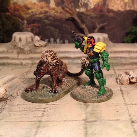 Hell Hound from Descent 2nd Edition hellhound Judge Dredd