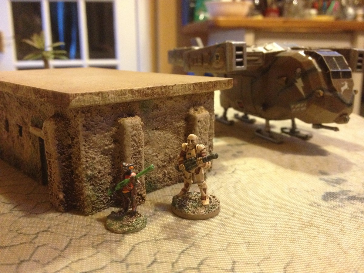 More Terrain Mat experiments, Prang and Desert Felt...eh?