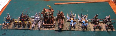 15mm Fastus Furius Fantasy chariots demonworld Ral Partha Alternative Armies