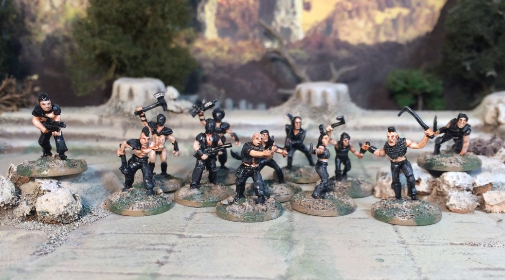 15mm Firefly Reavers Gangers Post Apocalypse Bad Guys