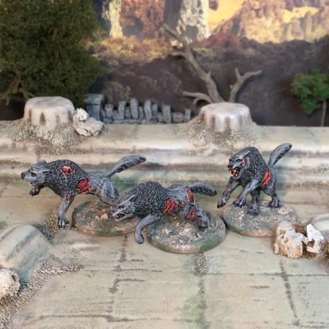 Zombicide Black Plague CMON painted miniatures