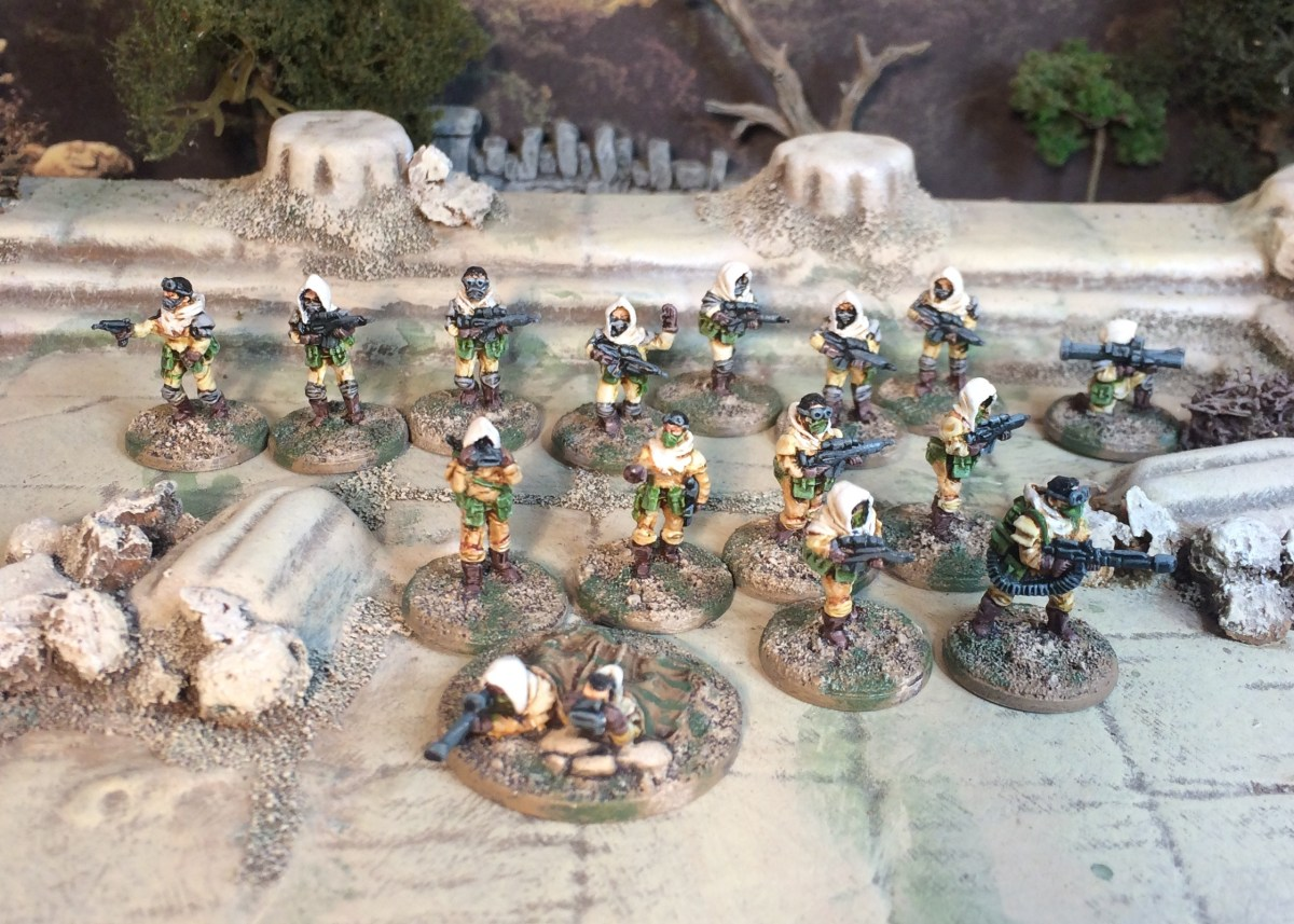 From out of the Rad-Desert come the Sahadeen: 15mm from Rebel Minis