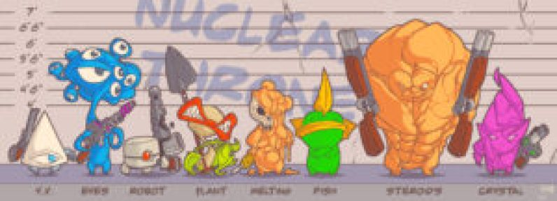 nuclear_throne_fan_art__nuclear_suspects_by_jouste-d6qynan