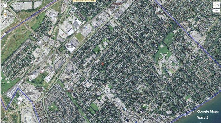 Ward 2 Google Map - click to enlarge