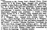 George Ward of Aston, 2 months in jail for poaching - Oxford Chronicle and Reading Gazette, 11 Mar 1837 - britishnewspaperarchive.co.uk
