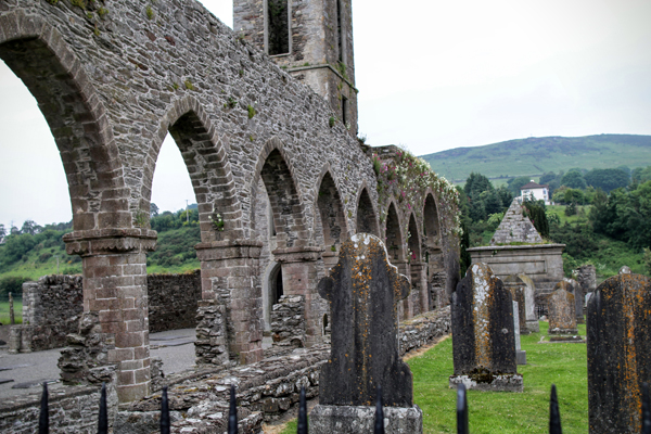 Baltinglass Abbey and Cemetery, © A C Ward 2016