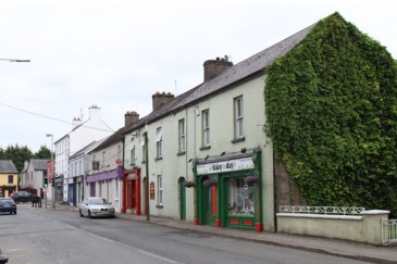 Baltinglass, looking from the intersection with Main Street, © A C Ward 2016