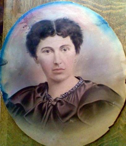 Katherine Styles Hayes, age 23, portrait courtesy Mrs. R Hayes Hai