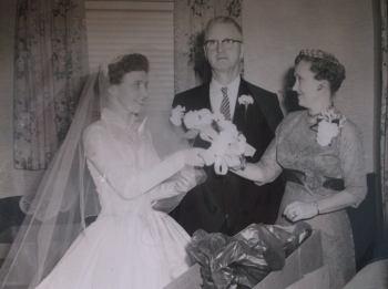 Edward Hayes 1958 daughters wedding