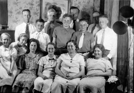 The van der Moere family of Grand Rapids, Michigan and Wissenkerke, Zeeland, The Netherlands.