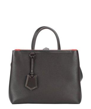 Fendi Dark Brown Leather '2Jours' Convertible $1712 Bluefly