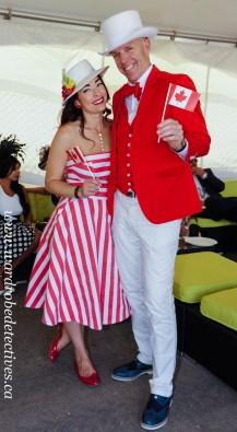 Megan Szanik & Michael Noble, Packwood Grand 2015 style