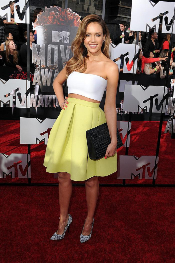 WTFSG-2014-mtv-movie-awards-red-carpet-Jessica-Alba