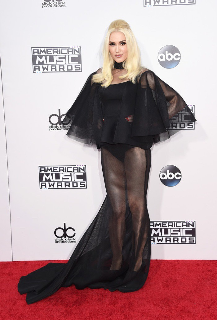 WTFSG_Gwen-Stefani-2015-American-Music-Awards-Yousef-Al-Jasmi-Black-Sheer-Dress